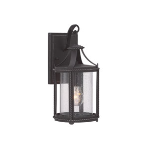 Palencia Artisan Pardo Wash 7-Inch One-Light Outdoor Wall Lantern