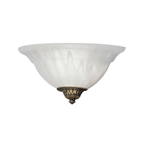 Scavo Glass Wall Sconce with Assorted Finials