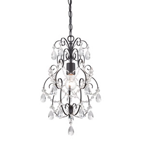Flora Oil Rubbed Bronze One-Light Mini Chandelier