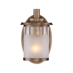 Essense Old Satin Brass One-Light Wall Sconce