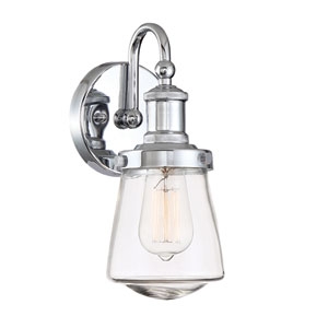 Taylor Chrome One-Light Wall Sconce