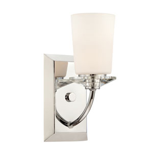 Palatial Chrome Wall Sconce