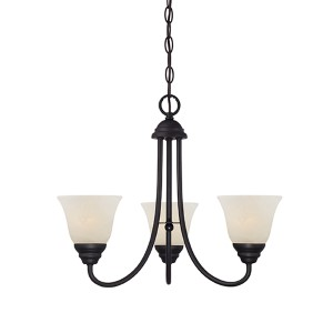 Kendall Oil Rubbed Bronze Three-Light Chandelier