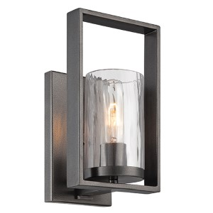 Elements Charcoal One-Light Wall Sconce