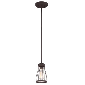 Brooklyn Bronze One-Light Mini Pendant