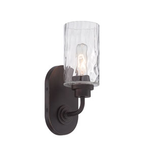 Gramercy Park Old English Bronze One-Light Wall Sconce