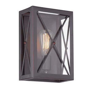 High Line Satin Bronze One-Light Wall Sconce