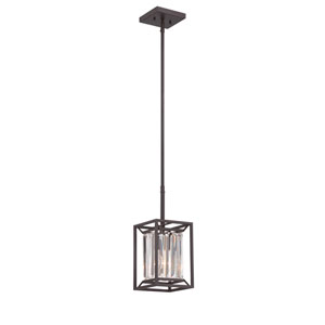 Linares Vintage Bronze One-Light Mini Pendant