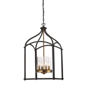 Avondale Oil Rubbed Bronze Four-Light Chandelier