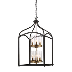 Avondale Oil Rubbed Bronze Eight-Light Chandelier