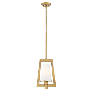 Hyde Park Vintage Gold One-Light Mini Pendant