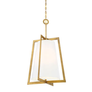 Hyde Park Vintage Gold Four-Light Pendant