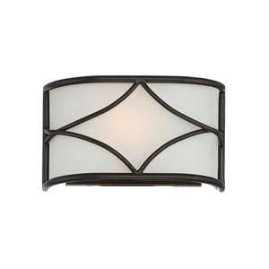 Avara Oil Rubbed Bronze One-Light Wall Sconce