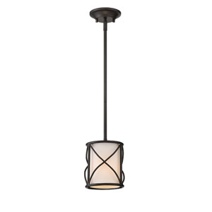 Avara Oil Rubbed Bronze One-Light Mini Pendant