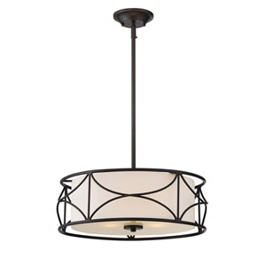 Avara Oil Rubbed Bronze Three-Light Pendant