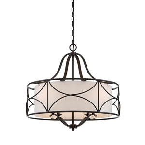 Avara Oil Rubbed Bronze Four-Light Pendant