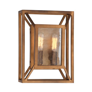 Athina Gilded Bronze Two-Light Wall Sconce