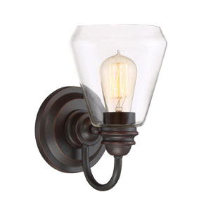 Foundry Satin Bronze One-Light Wall Sconce