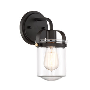 Jaxon Oil Rubbed Bronze One-Light Wall Sconce
