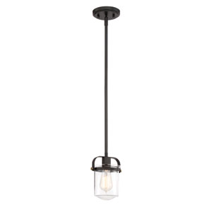 Jaxon Oil Rubbed Bronze One-Light Mini Pendant