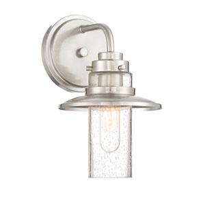 Dover Satin Platinum One-Light Bath Light