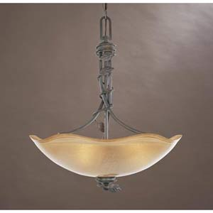 Timberline Old Bronze Three-Light Pendant