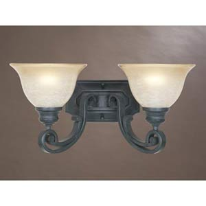 Barcelona Natural Iron Two-Light Sconce