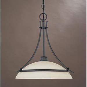 Montego Oil Rubbed Bronze One-Light Pendant