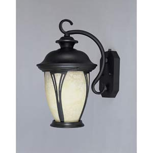 Westchester Medium Bronze One-Light Fluorescent Outdoor Wall Light with Photocell