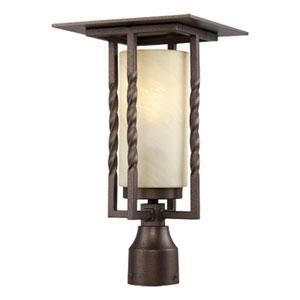 Parkview Flemish Bronze One-Light Post Lantern