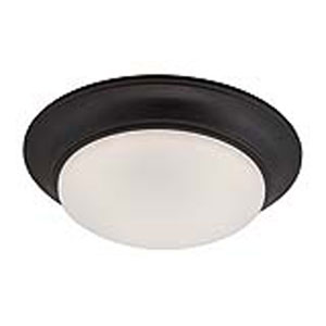 Halo Oil Rubbed Bronze LED One-Light Flush Mount