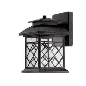 Woodmere Oil Rubbed Bronze LED One-Light Wall Lantern