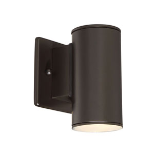 Barrow Oil Rubbed Bronze LED Six-Inch Outdoor Wall Sconce