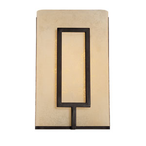 Regatta Burnished Bronze 10.75-Inch One-Light LED Wall Sconce