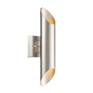 Skyler Satin Platinum LED Wall Sconce