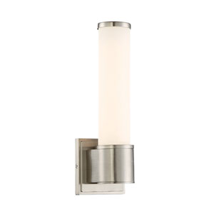 Linden Satin Platinum Energy Star LED Wall Sconce