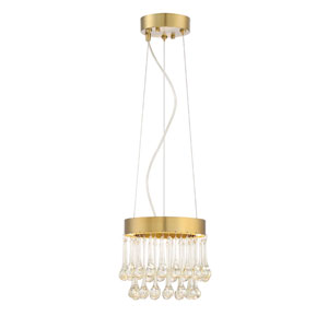Lucienne Luxor Gold LED Eight-Inch Mini Pendant