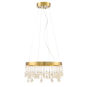 Lucienne Luxor Gold LED 19-Inch Pendant
