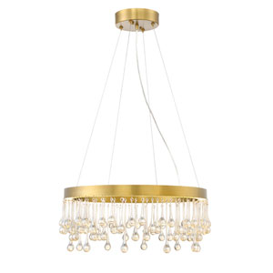 Lucienne Luxor Gold LED 23-Inch Pendant