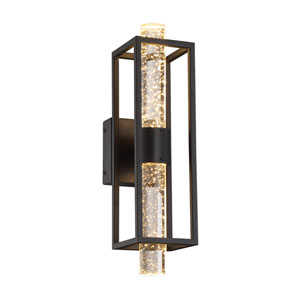 Aloft Black 5-Inch LED Wall Sconce