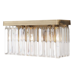 Social Club Havana Gold Two-Light Bath Vanity