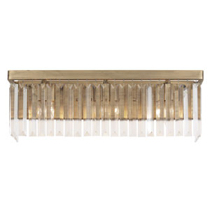 Social Club Havana Gold Three-Light Bath Vanity