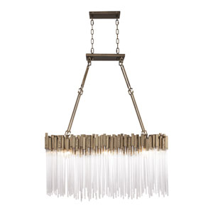 Matrix Havana Gold 36-Inch Six-Light Pendant