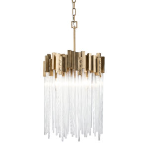 Matrix Havana Gold Three-Light Pendant