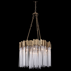 Matrix Havana Gold Nine-Light Pendant