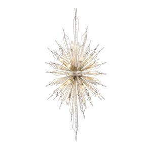Orbital Gold Dust 20-Light Pendant