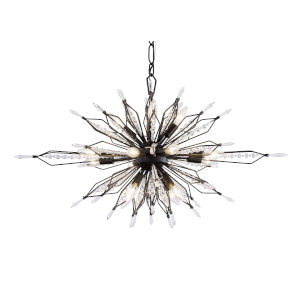 Orbital Carbon 36-Inch 16-Light Pendant