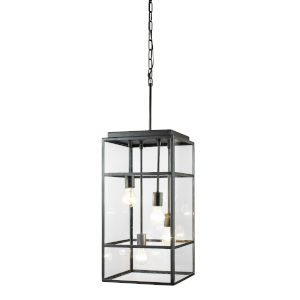 Wholigan Carbon Four-Light Pendant