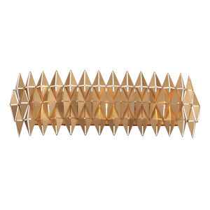 Forever French Gold Three-Light Wall Sconce