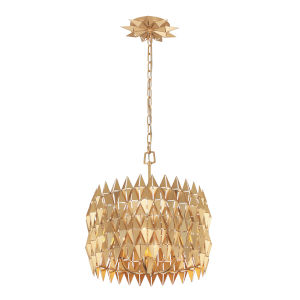 Forever French Gold Four-Light Pendant